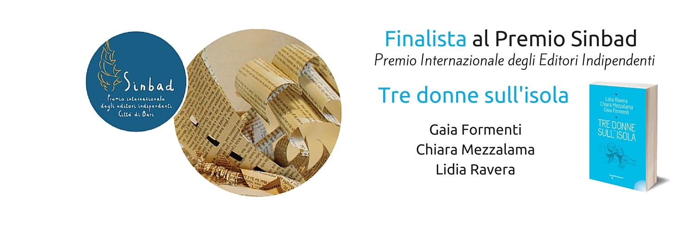 Libro finalista al premio Sinbad - premio Internazionale degli Editori Indipendenti