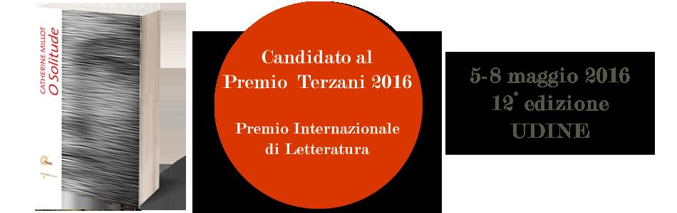 O Solitude candidato al Premio Terzani